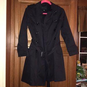 Banana Republic Trench Coat Rain Jacket XS Petite